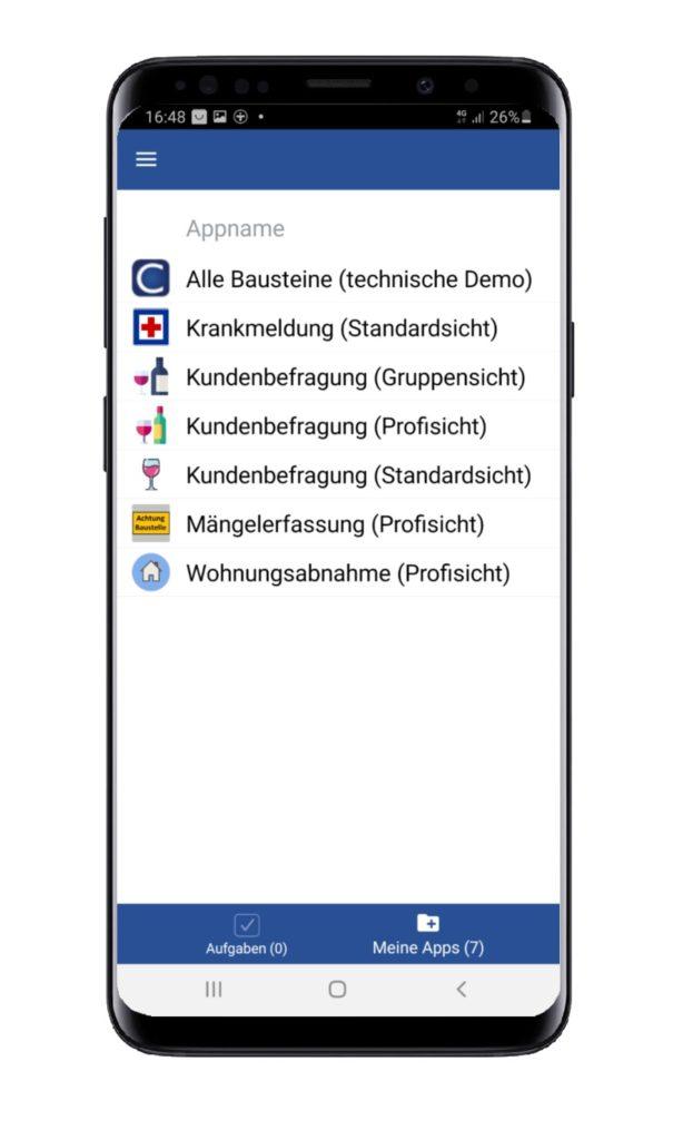 Appliste Demp-Apps