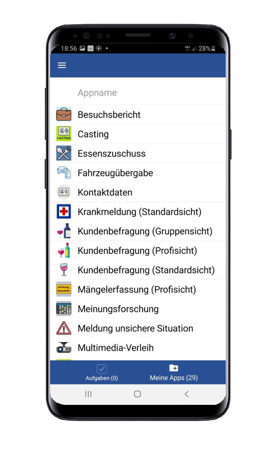 App-Liste